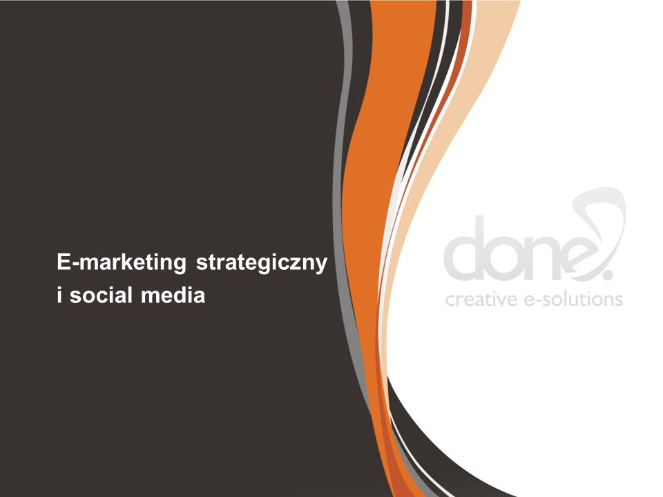 E-marketing strategiczny i social media