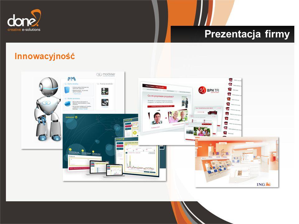 Prezentacja firmy Innowacyjność