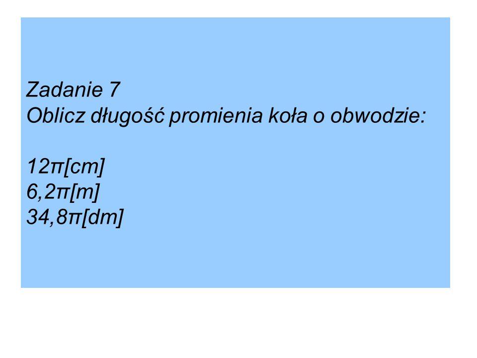 Zadanie domowe: Zadanie 7, 8 str. 53 [w:] Podręcznik dla klasy II gimnazjum, wyd. GWO.