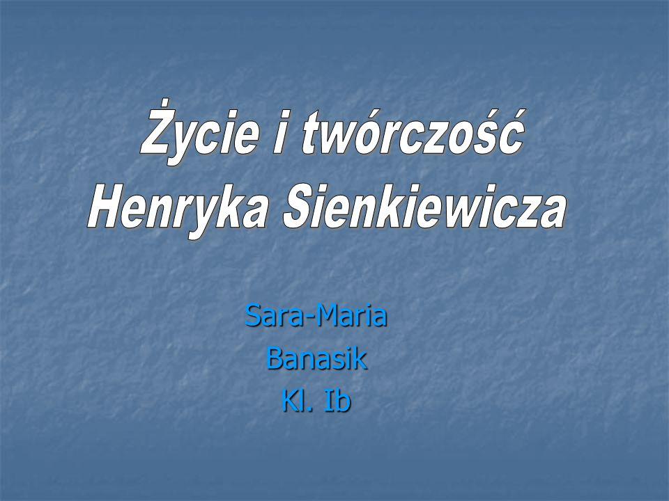 Sara-Maria Banasik Kl. Ib