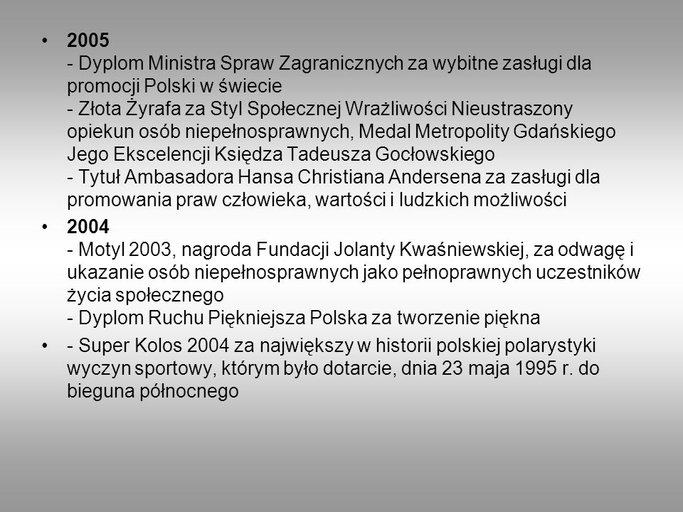 Działalność Placówka założona w 2008 roku przez Marka Kamińskiego mająca na celu poszerzenie i uzupełnienie działalności Fundacji Marka Kamińskiego.