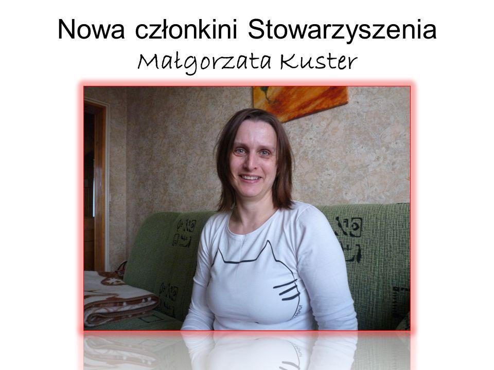 Nowa członkini Stowarzyszenia Małgorzata Kuster