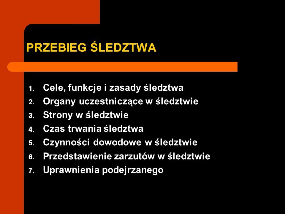 2.ORGANY UCZESTNICZĄCE W ŚLEDZTWIE UDZIAŁ SĄDU W ŚLEDZTWIE art.