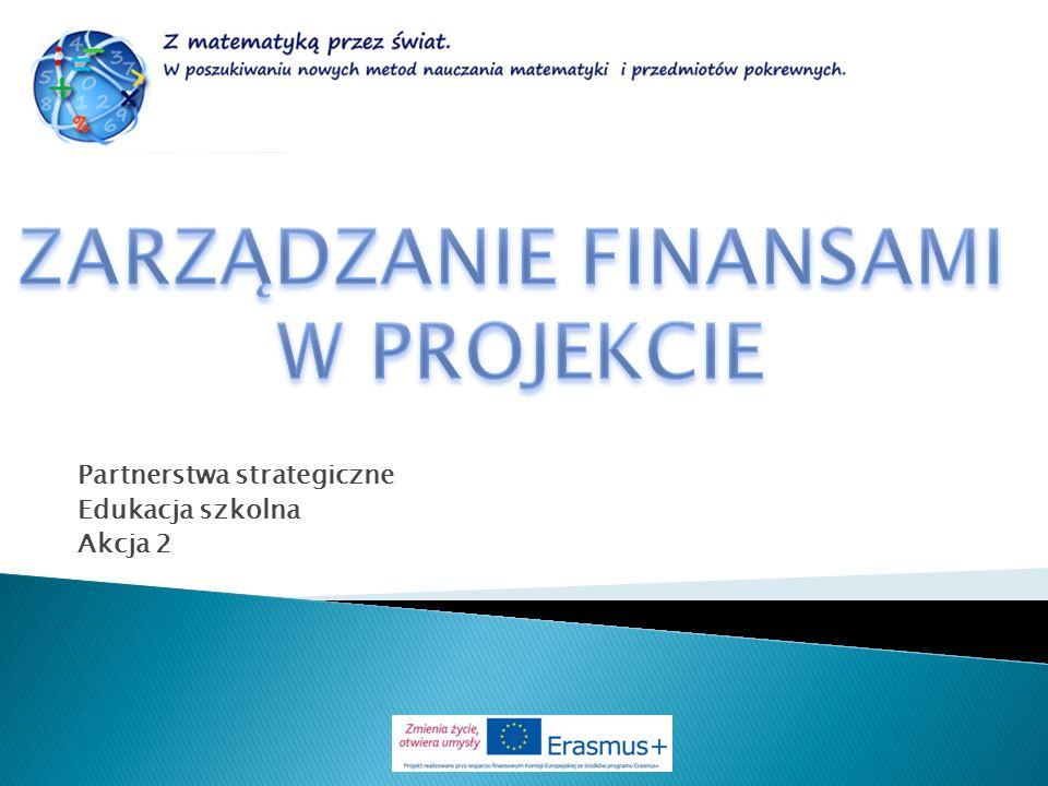 Partnerstwa strategiczne Edukacja szkolna Akcja 2