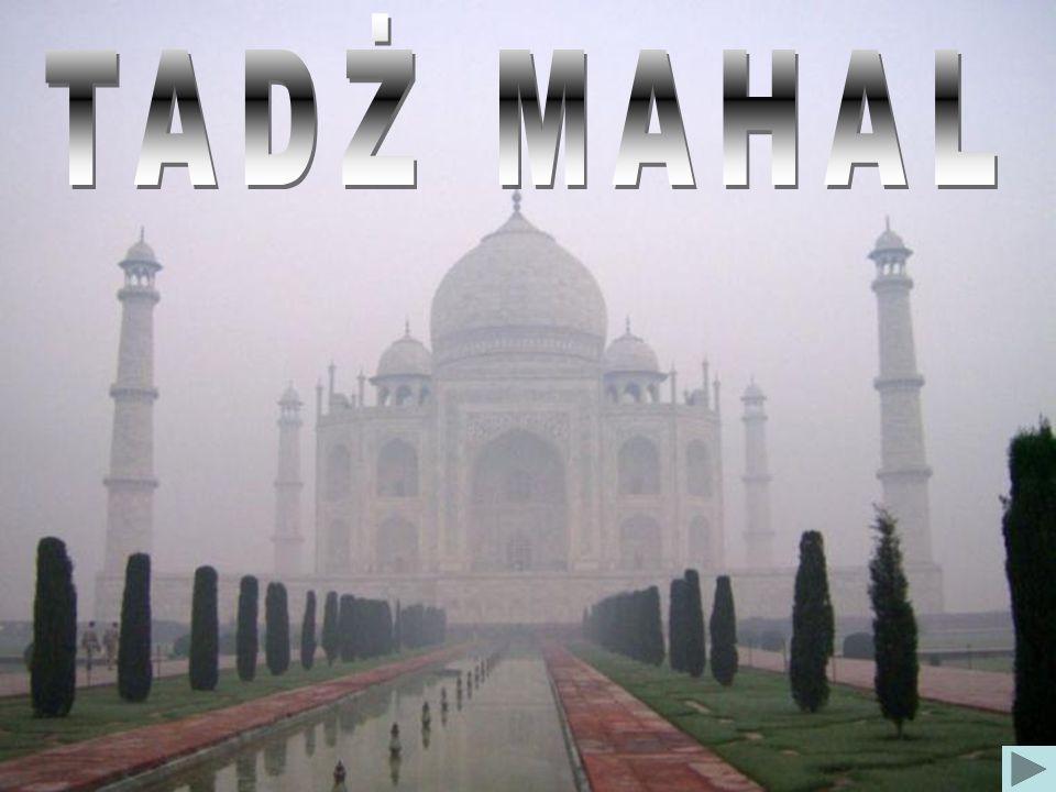 Tadż Mahal o wschodzie Słońca (wizytówka Indii)