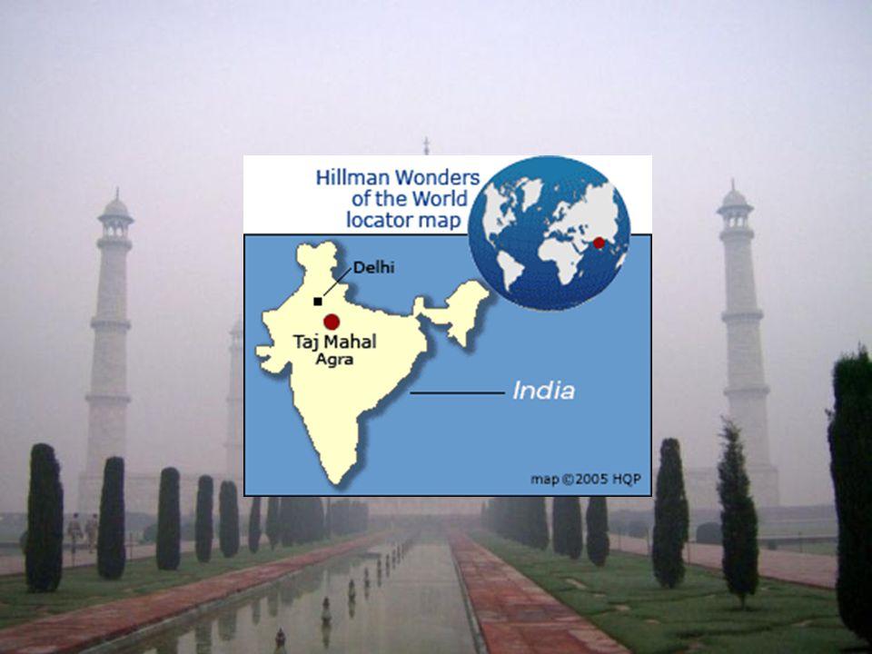 Informacje ogólne, opis obiektu.Tadż Mahal, monumentalny grobowiec, wzniesiony w Agrze ok.