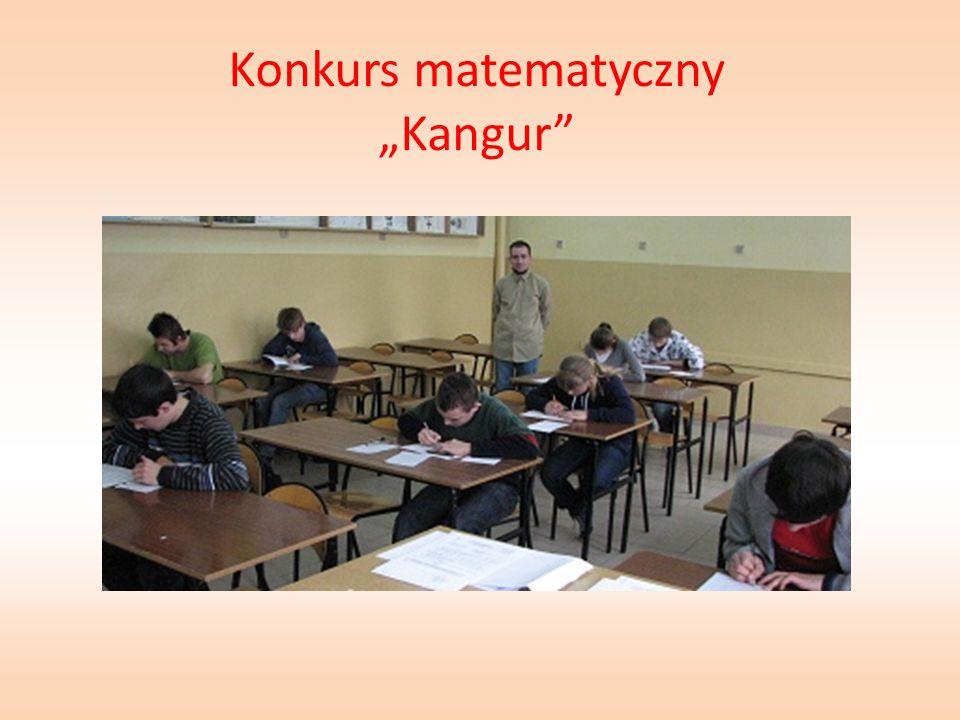 "Konkurs matematyczny ""Kangur"""