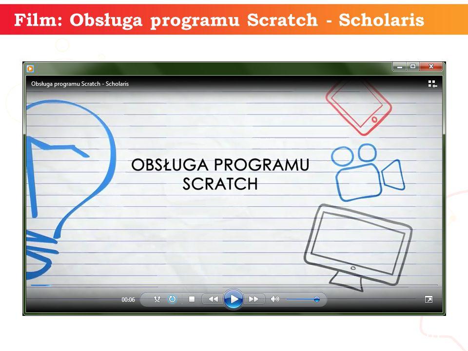 informatyka + 10 Film: Obsługa programu Scratch - Scholaris