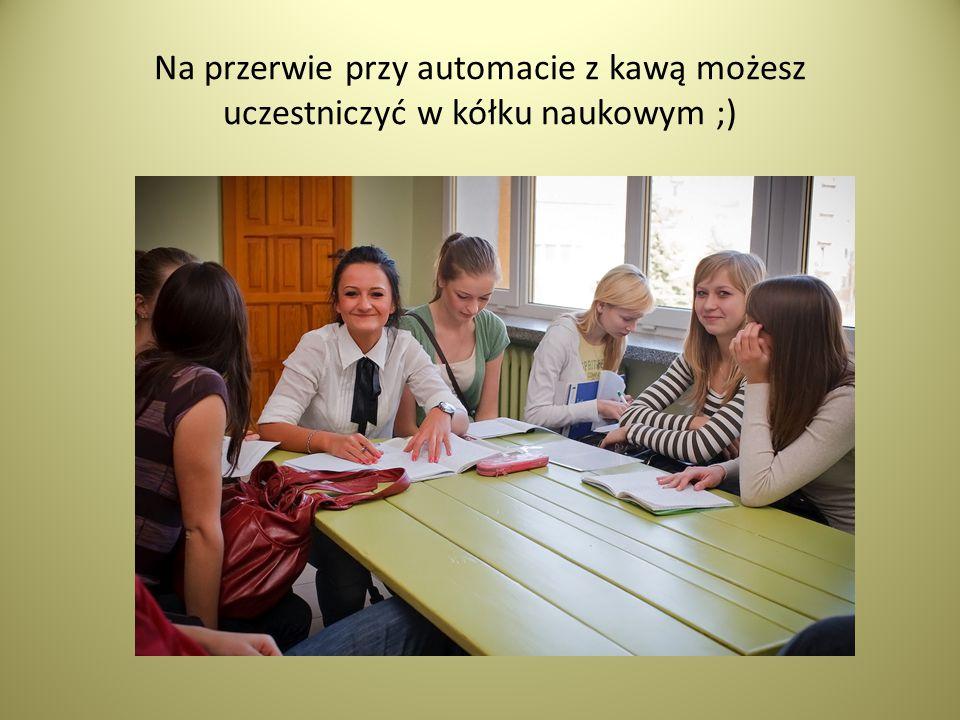 Będą Cię uczyć wyluzowani nauczyciele