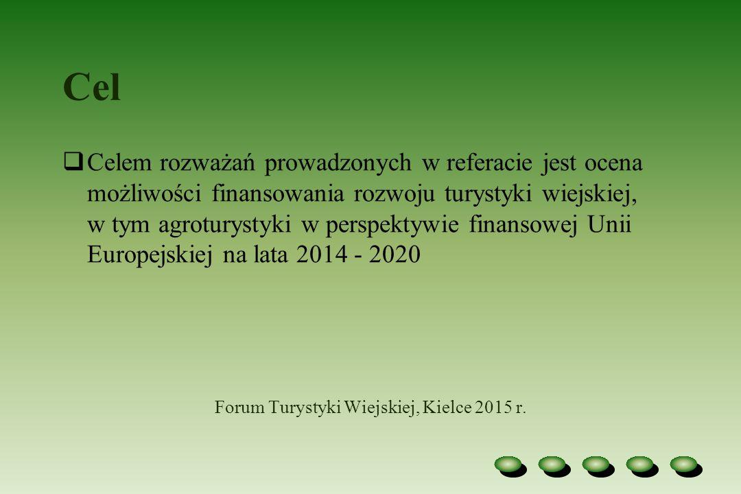Rozwój agroturystyki Rozwój agroturystyki, jako przejaw realizacji Wspólnej Polityki Rolnej realizowanej zarówno przez Unię Europejską, jak i rząd Polski, jest bardzo ważny dla polskiej wsi, gdyż przyczynia się: a) z jednej strony do rozwoju gospodarstw rolnych świadczących usługi turystyczne b) z drugiej zaś jest determinantą rozwoju miejscowej infrastruktury i czynnikiem aktywizacji lokalnego rynku pracy