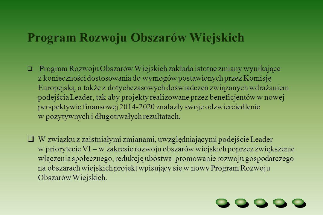 Priorytety wyznaczone dla unijnej polityki rozwoju obszarów wiejskich na lata 2014 -2020 Działania PROW 2014-2020 Priorytet I – Ułatwienie transferu wiedzy i innowacji w rolnictwie i leśnictwie oraz na obszarach wiejskich I.