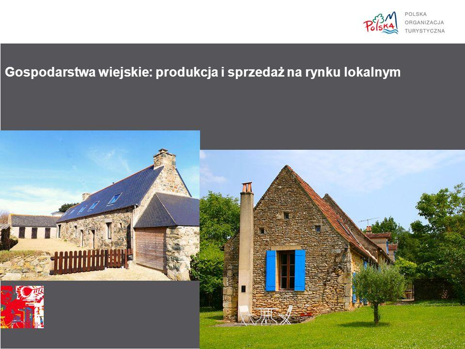 Gospodarstwa wiejskie: produkcja i sprzedaż na rynku lokalnym