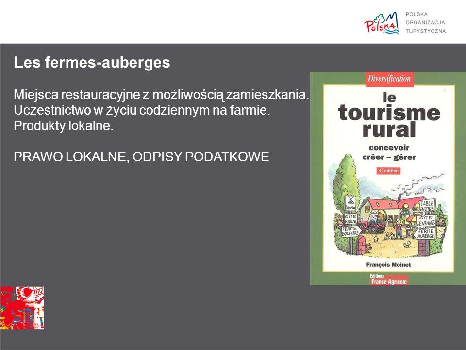 Les fermes-auberges Miejsca restauracyjne z możliwością zamieszkania.