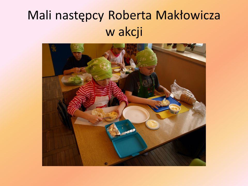Mali następcy Roberta Makłowicza w akcji