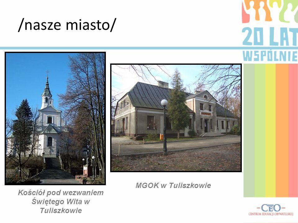 Kościół pod wezwaniem Świętego Wita w Tuliszkowie MGOK w Tuliszkowie /nasze miasto/