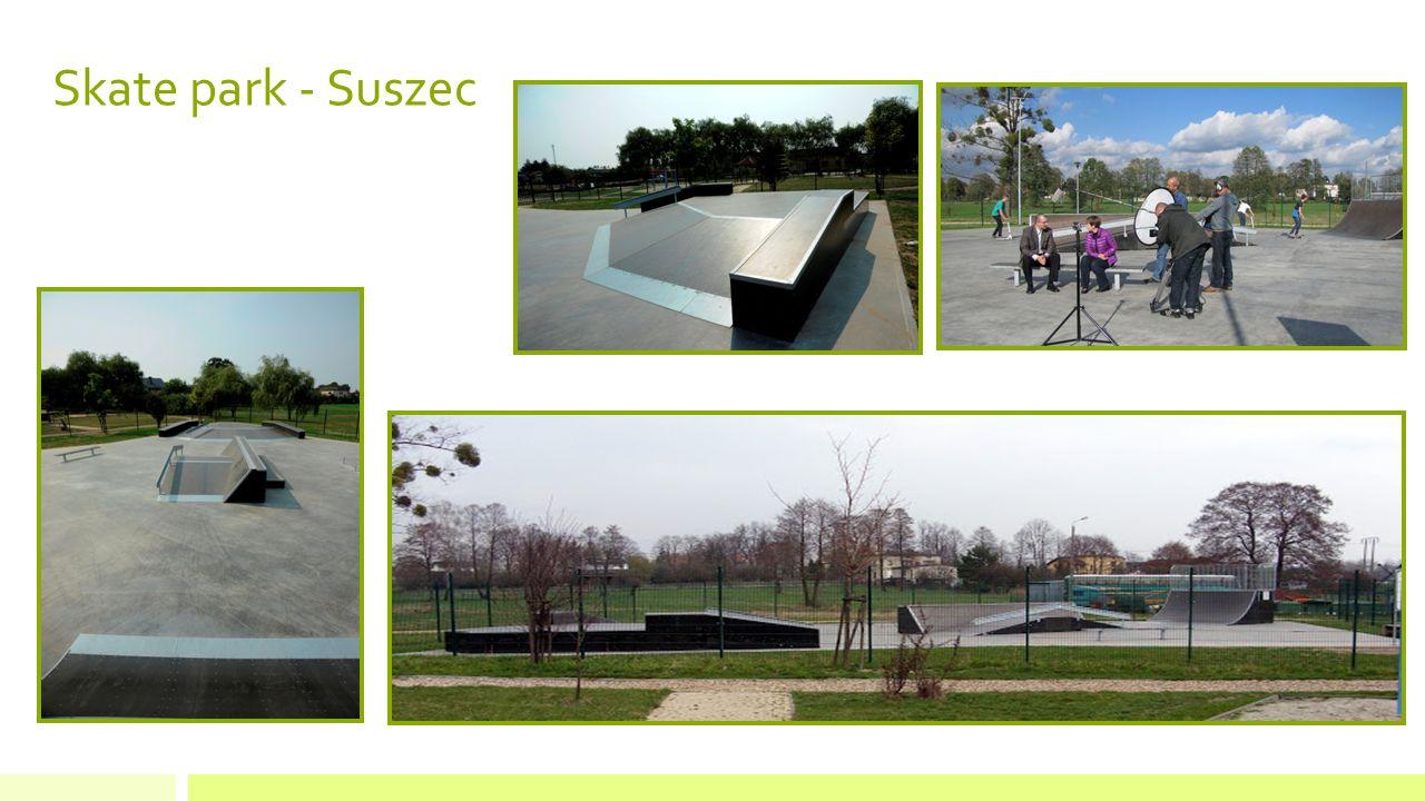 Skate park - Suszec