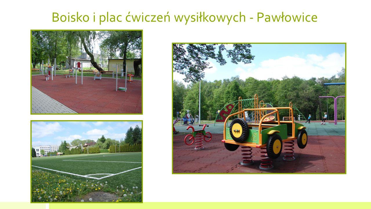 Boisko i plac ćwiczeń wysiłkowych - Pawłowice