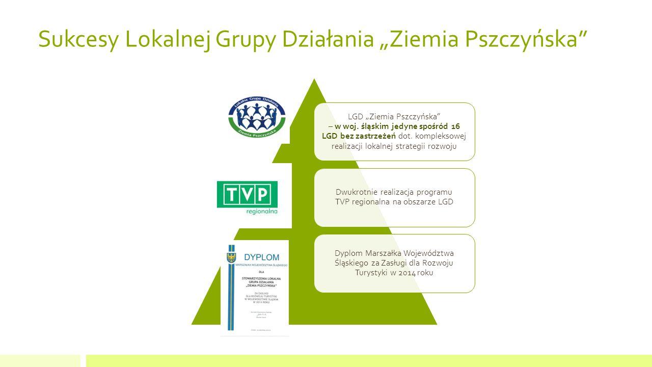 """Sukcesy Lokalnej Grupy Działania """"Ziemia Pszczyńska LGD """"Ziemia Pszczyńska – w woj."""