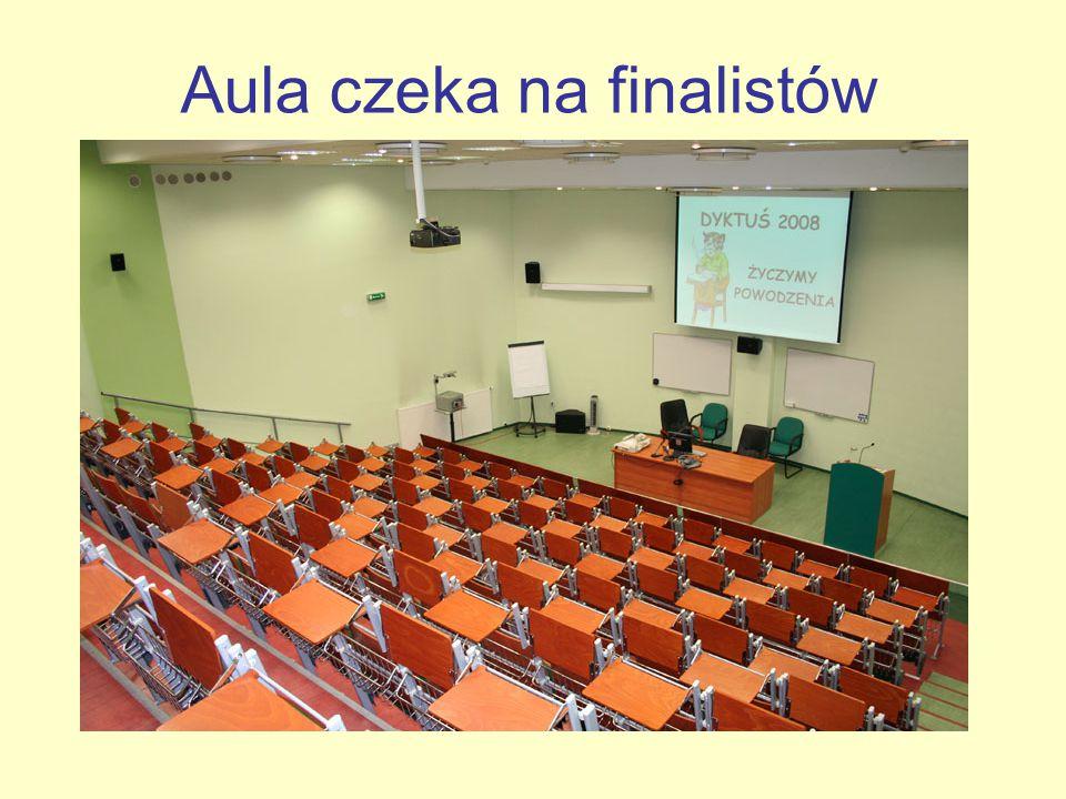 Aula czeka na finalistów