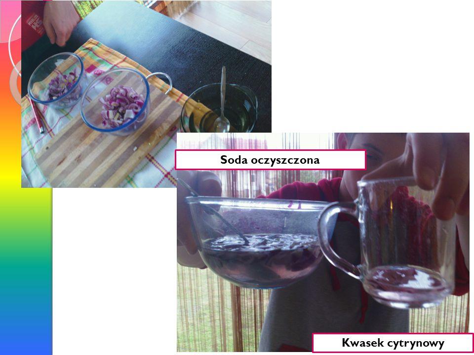 Soda oczyszczona Kwasek cytrynowy