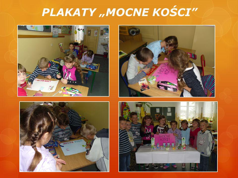 """PLAKATY """"MOCNE KOŚCI"""