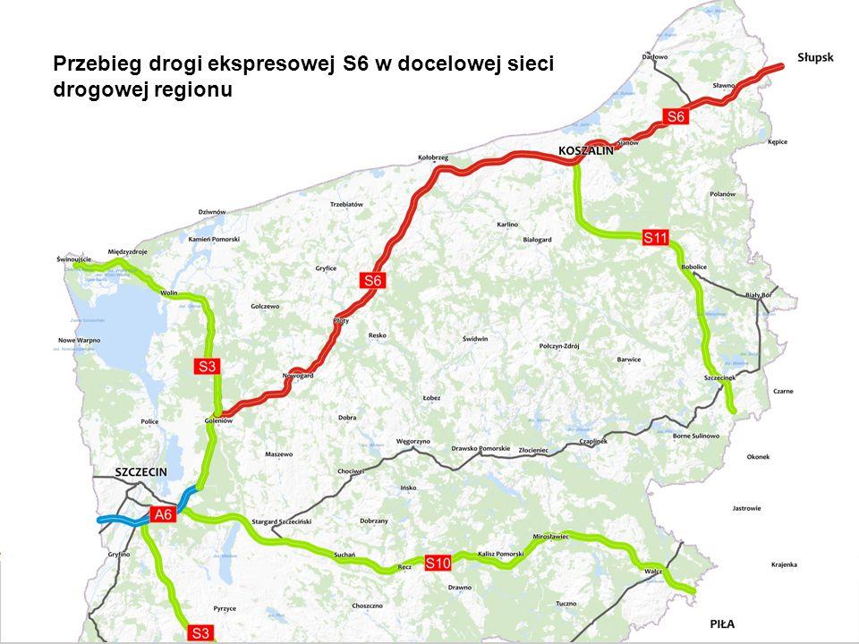 GDDKiA będzie utrzymywać istniejącą DK 6 do czasu oddania do ruchu nowej drogi S6, która ją zastąpi.
