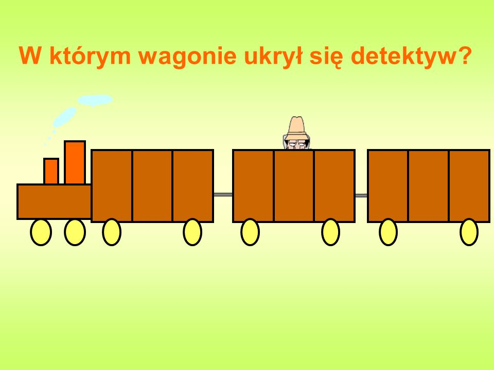 W którym wagonie ukrył się detektyw