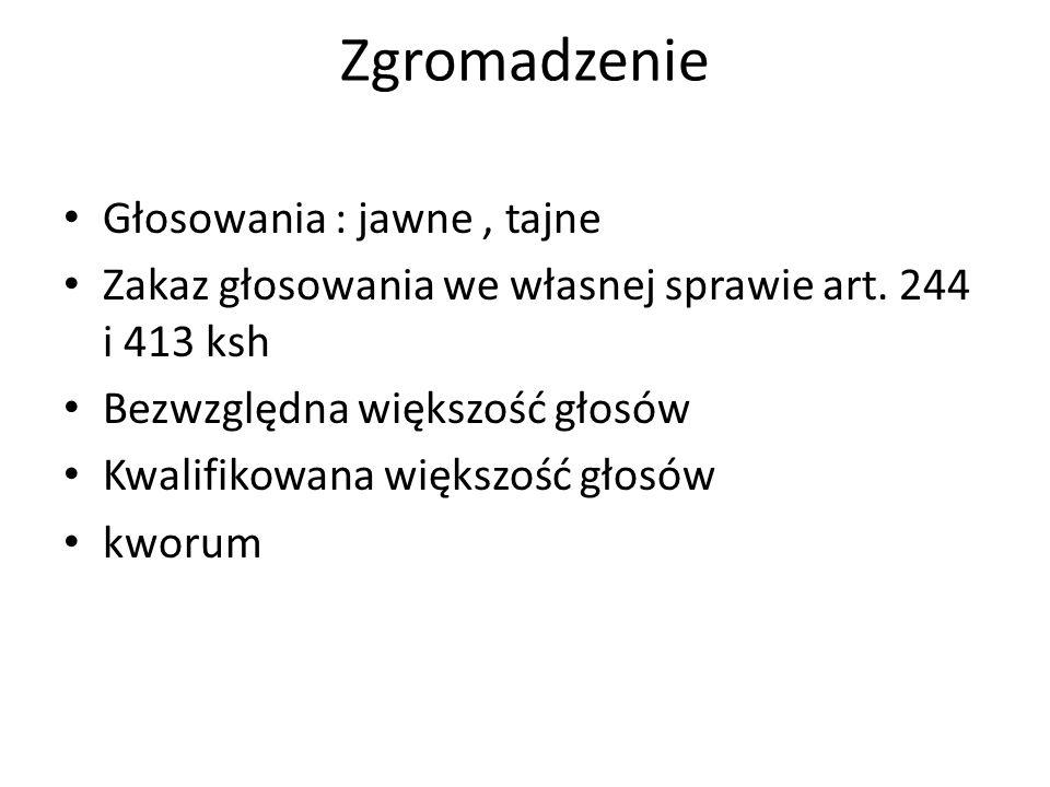 Specyfika spółki akcyjnej Art..