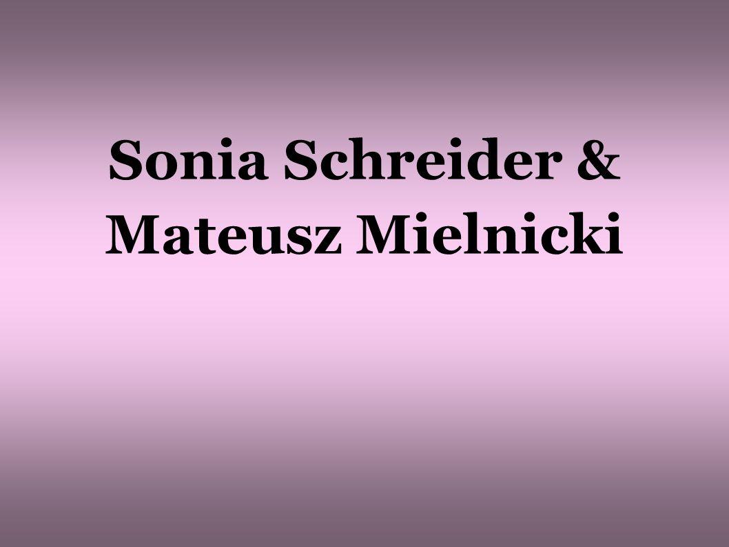 Sonia Schreider & Mateusz Mielnicki