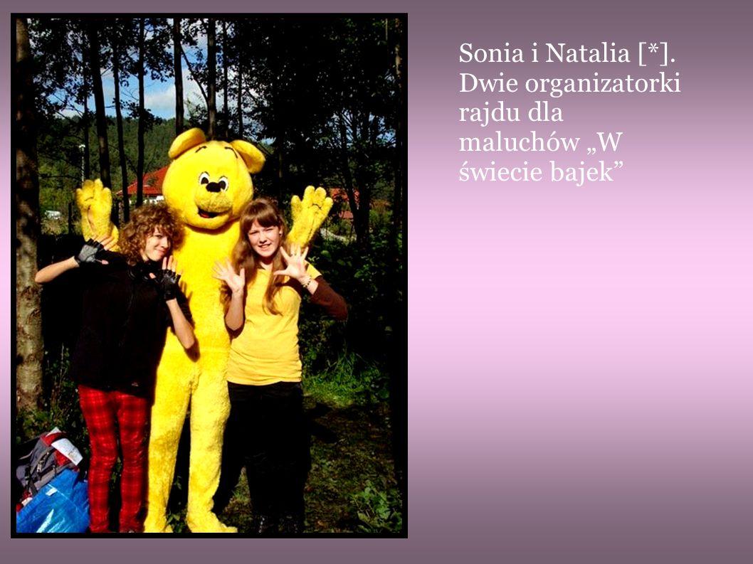 """Sonia i Natalia [*]. Dwie organizatorki rajdu dla maluchów """"W świecie bajek"""""""