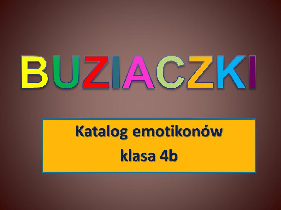 Katalog emotikonów klasa 4b