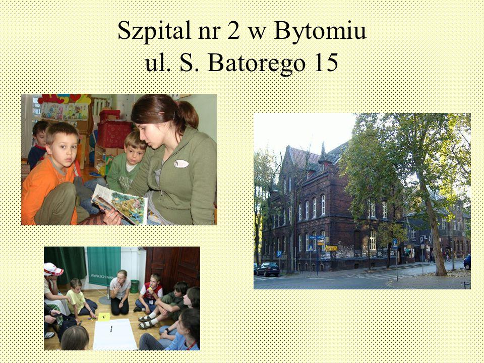 Szpital nr 2 w Bytomiu ul. S. Batorego 15