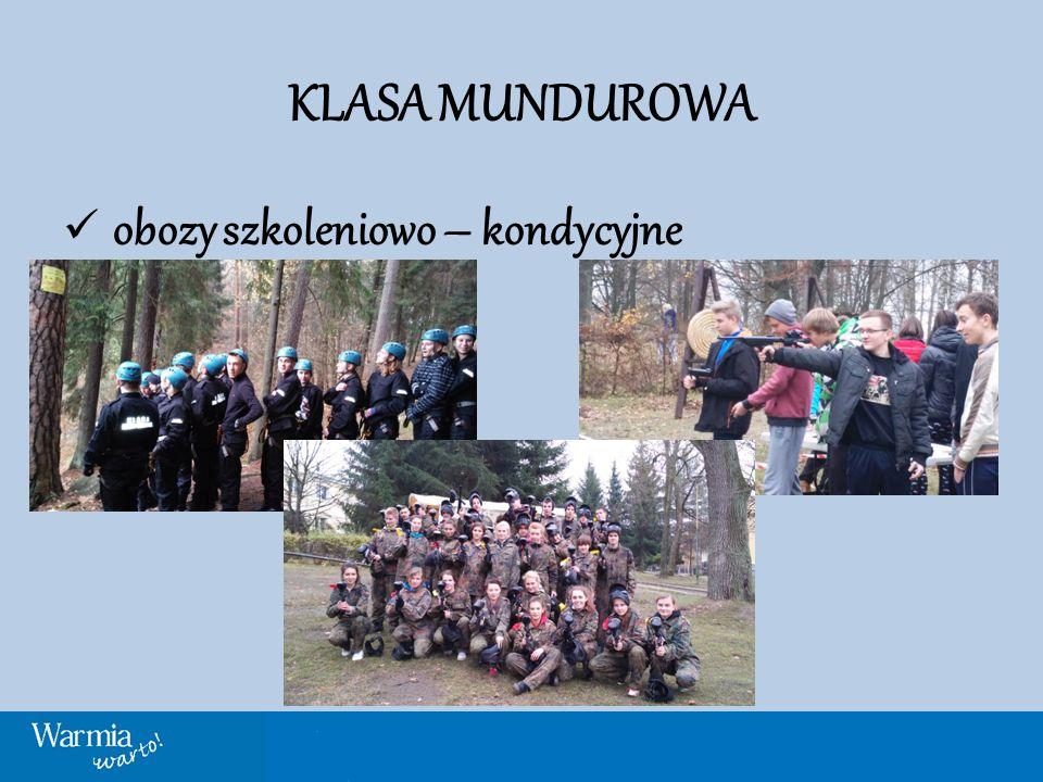 KLASA MUNDUROWA obozy szkoleniowo – kondycyjne