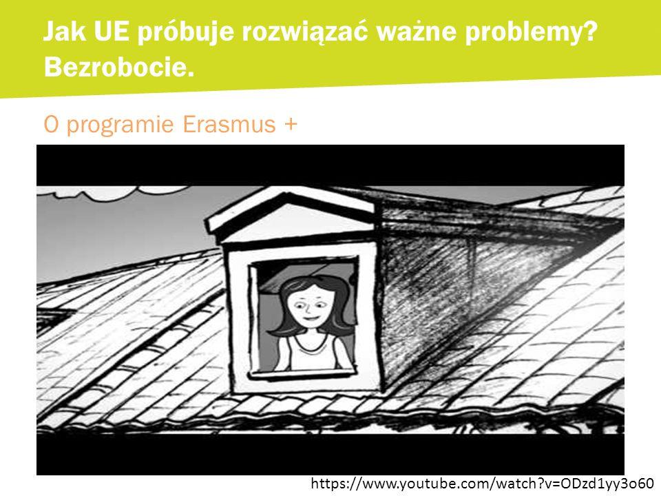 O programie Erasmus + Jak UE próbuje rozwiązać ważne problemy.