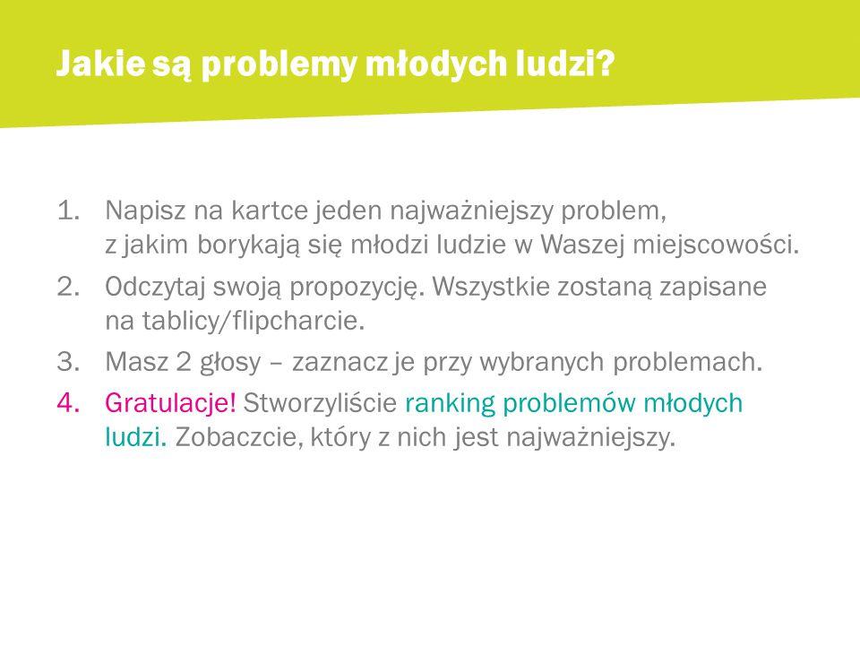 Zadanie: Zastanówcie się, o co możecie zapytać, aby znaleźć rozwiązanie dla Waszego problemu.