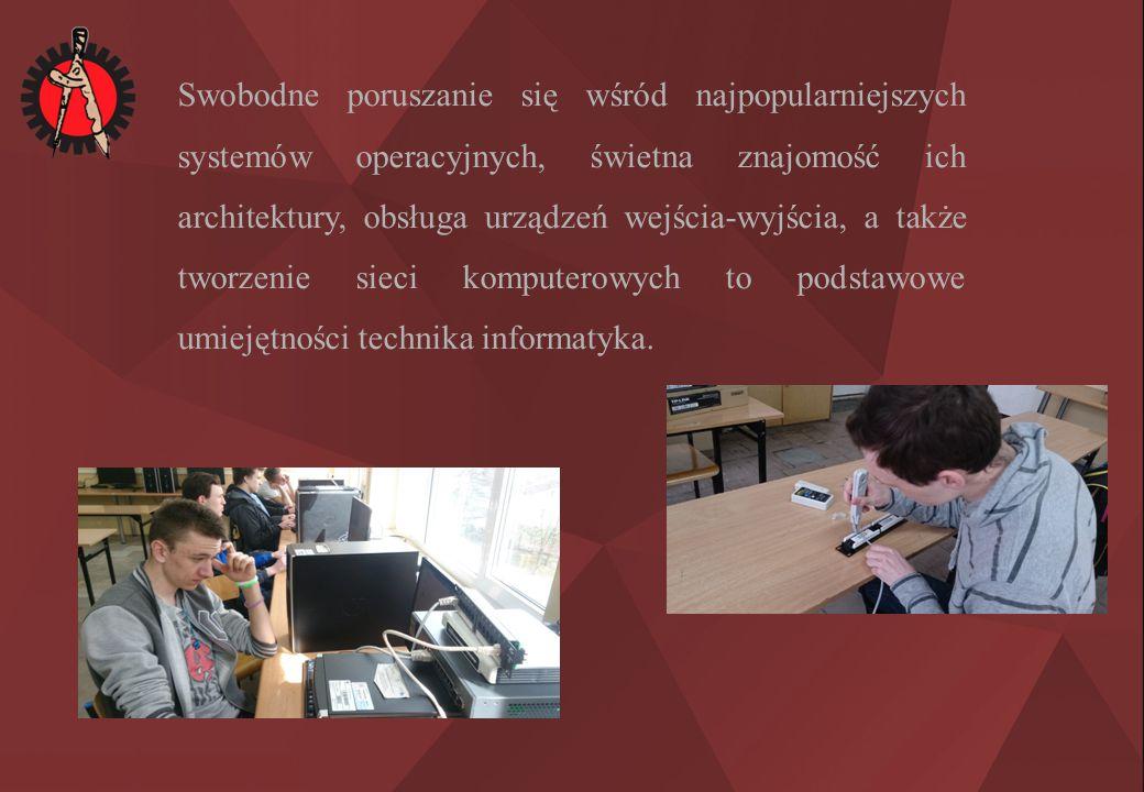 W ramach oferty naszej szkoły proponujemy Ci naukę w Technikum Informatycznym.