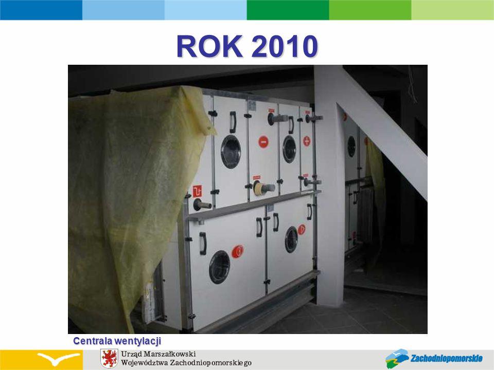 ROK 2010 Centrala wentylacji