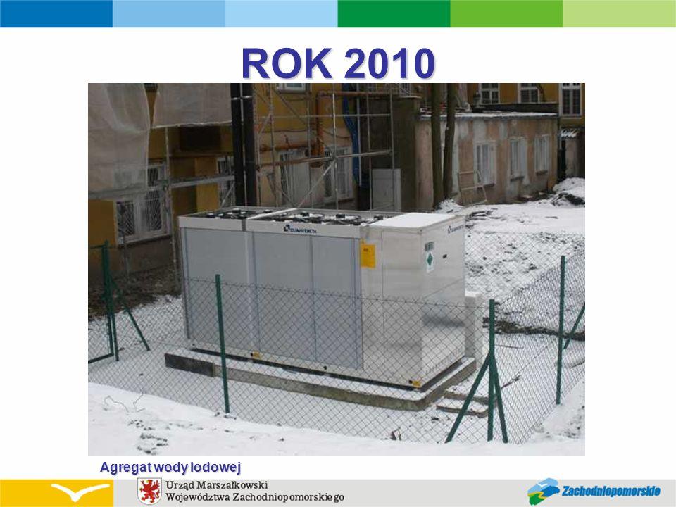 ROK 2010 Agregat wody lodowej