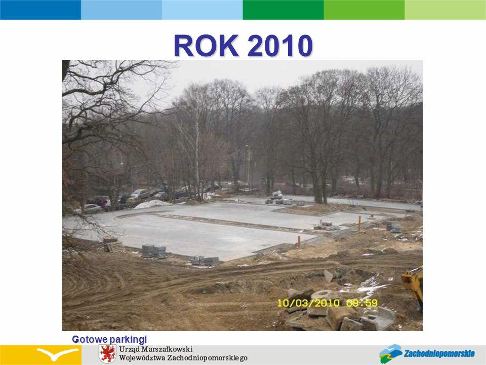 ROK 2010 Gotowe parkingi