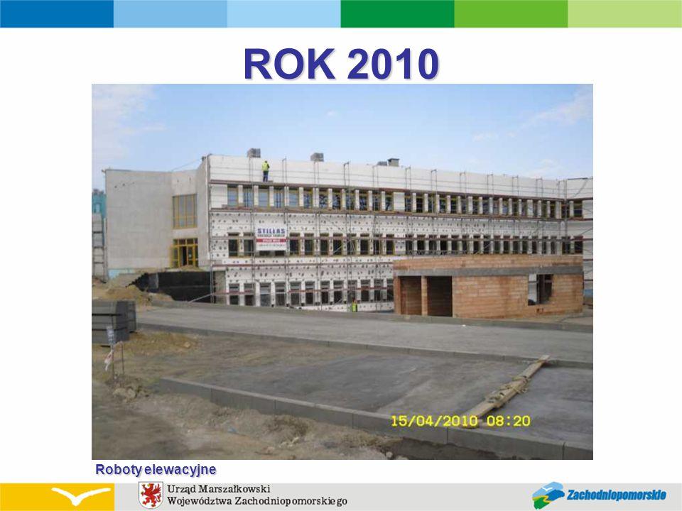 ROK 2010 Roboty elewacyjne