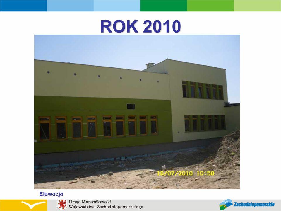ROK 2010 Elewacja
