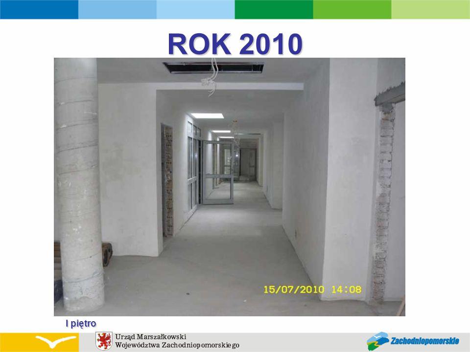 ROK 2010 I piętro