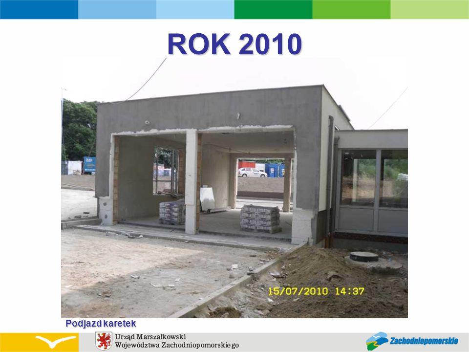 ROK 2010 Podjazd karetek