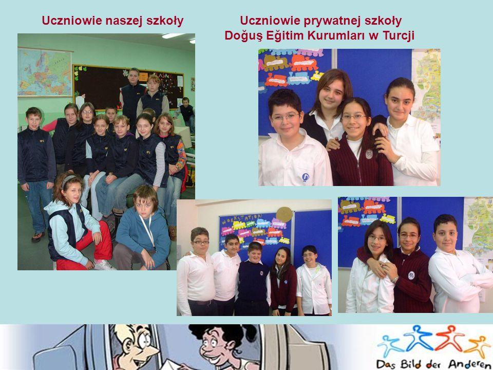 Uczniowie naszej szkoły Uczniowie prywatnej szkoły Doğuş Eğitim Kurumları w Turcji