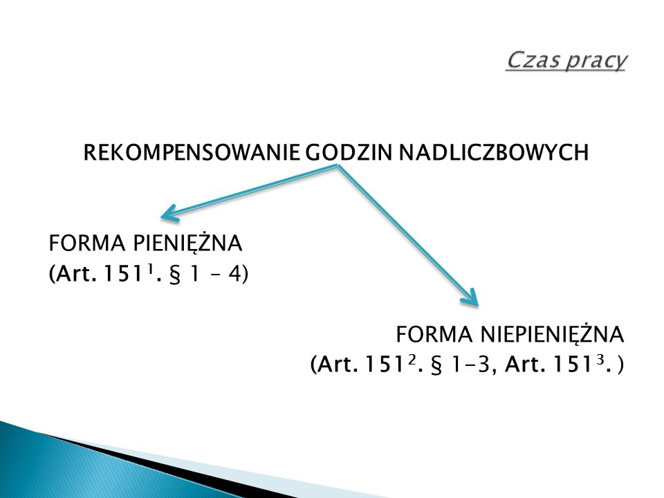 CZAS PRACY A DYŻUR (Art.