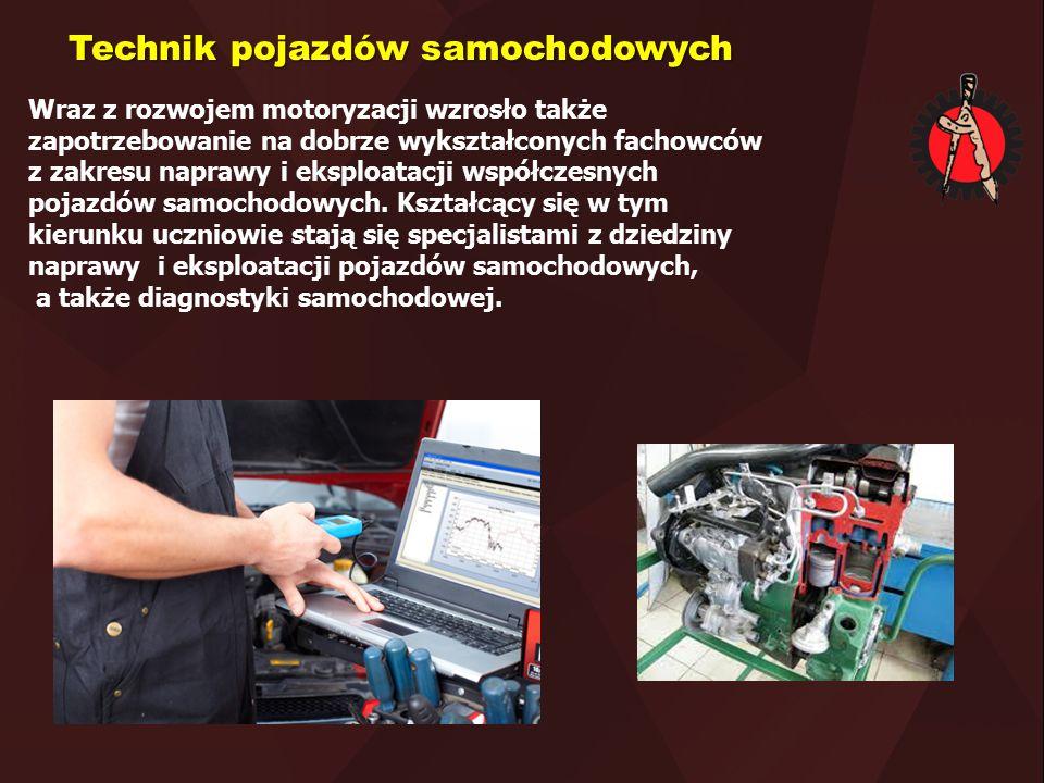 Wraz z rozwojem motoryzacji wzrosło także zapotrzebowanie na dobrze wykształconych fachowców z zakresu naprawy i eksploatacji współczesnych pojazdów s