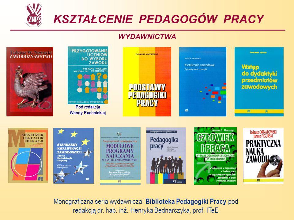 1.42 Pedagogika pracy – kontekst międzynarodowy Pedagogika PracyPedagogika Inżynierska
