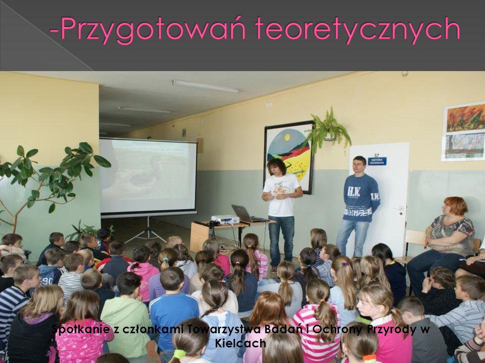 Spotkanie z członkami Towarzystwa Badań i Ochrony Przyrody w Kielcach