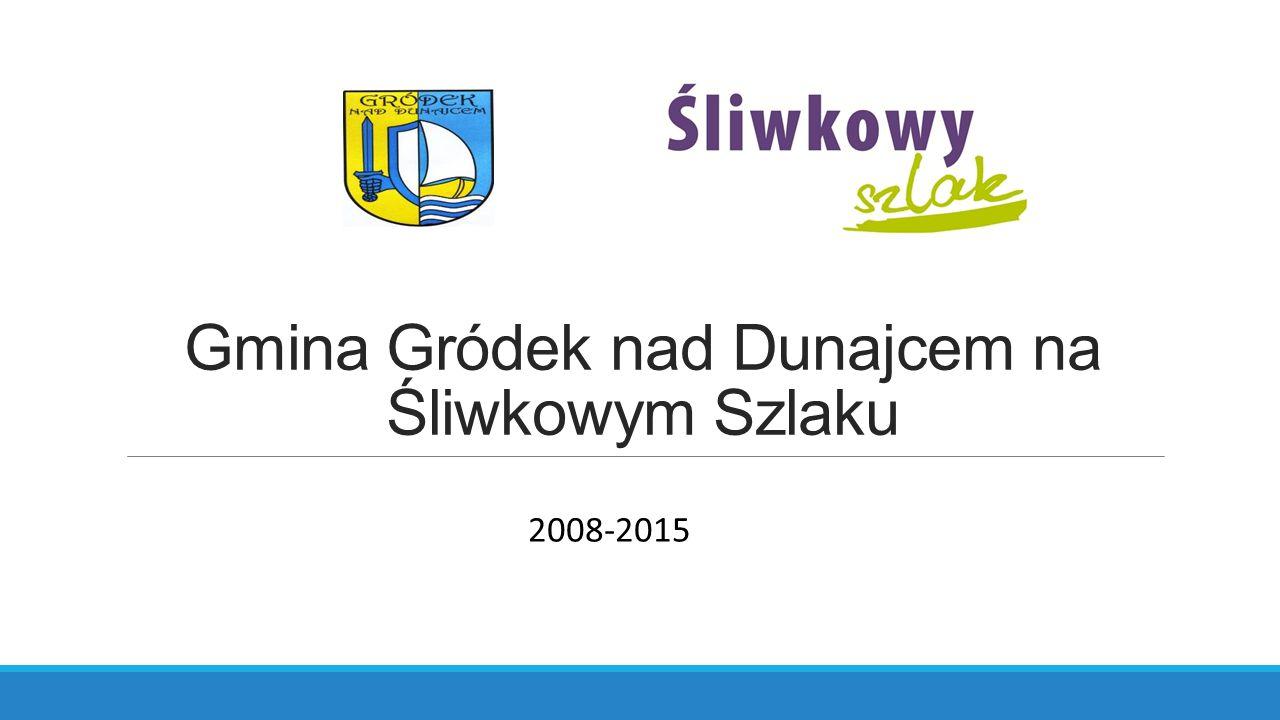 Gmina Gródek nad Dunajcem na Śliwkowym Szlaku 2008-2015