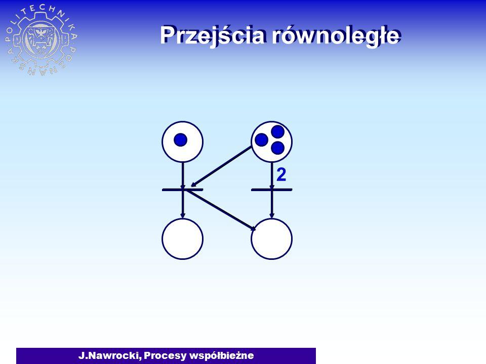 J.Nawrocki, Procesy współbieżne Przejścia równoległe 2